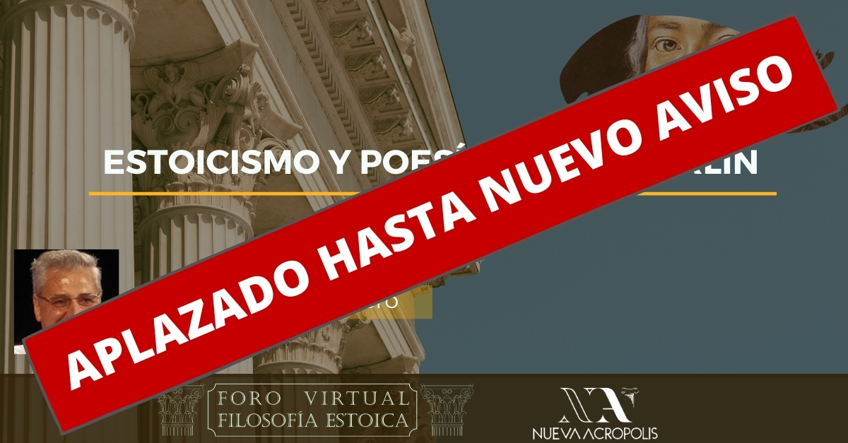 Conferencia Estoicismo y poesía en Holderling de José Morales Fabero