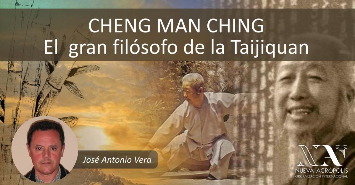 Foto filosifa de oriente para occidentales CHENG MAN CHING El gran filosofo de Taiqijun